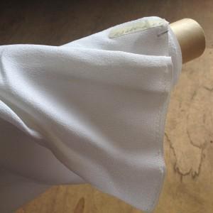染色前の白布