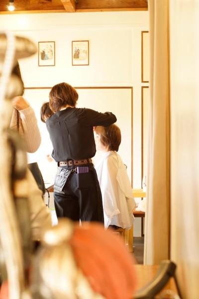 メイクのプロ YOKO そしてヘア―のプロ MANAMI